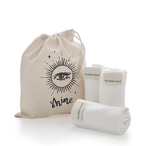 Bamboo Facial Cloth Trio