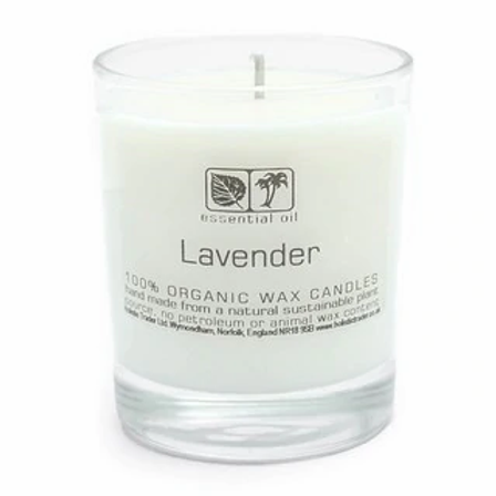 Large Lavender Aromatherapy Candle