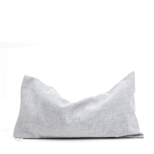Aromatherapy Eye Pillow - 100%Soft Grey Cotton