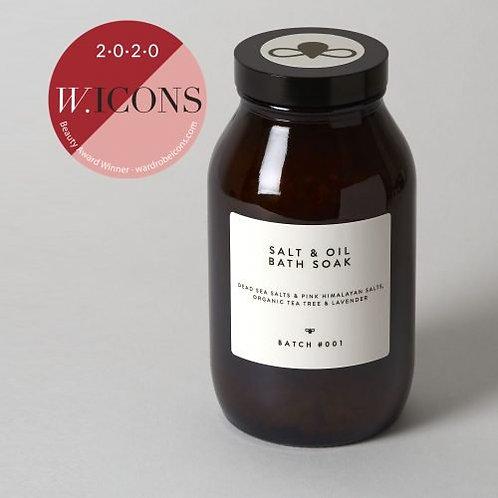 Salt & Oil Bath Soak Tea Tree & Lavender 560g