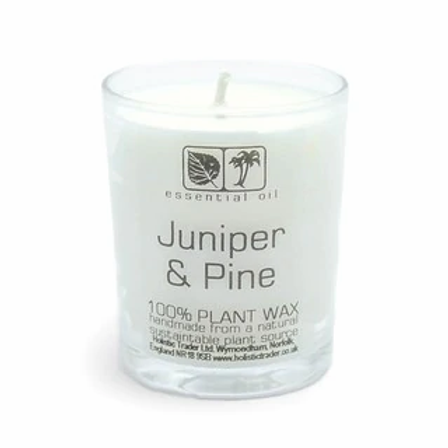 Juniper & Pine Aromatherapy Candle