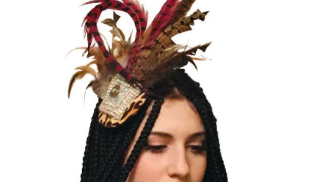 Feathers Wedding Fascinator