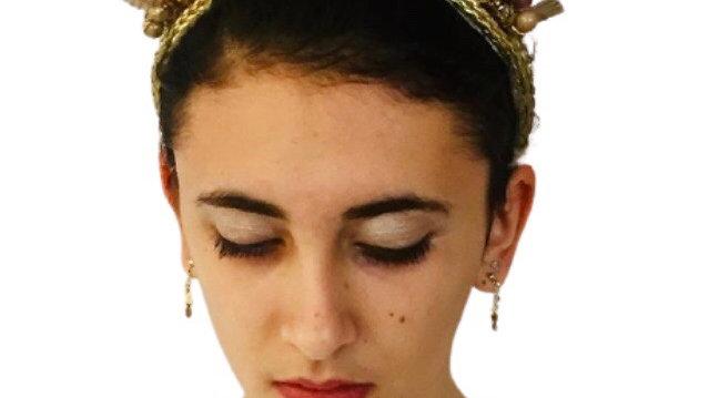 Beaded Wedding Headband
