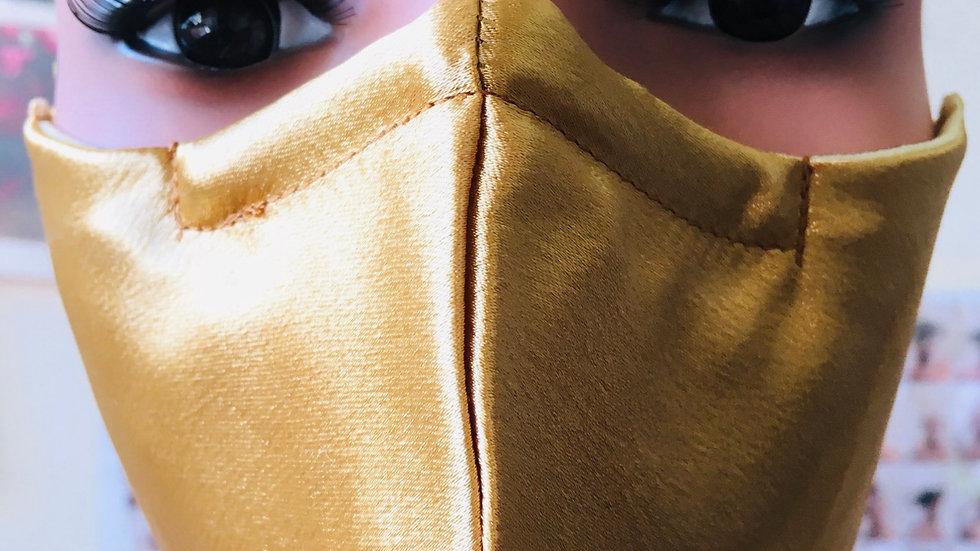 Gold Silk Mask