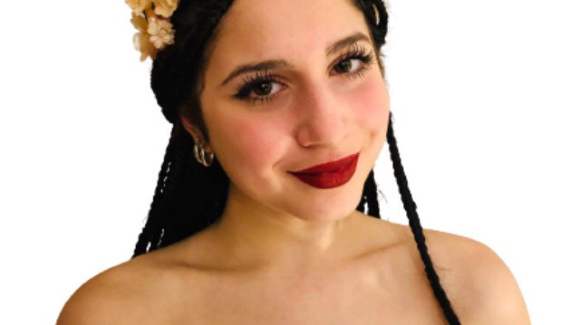 Wedding Headband With Flowers