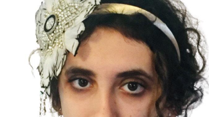 White Feather Wedding Fascinator