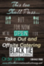Copy of Open for Takeout Poster - Made w