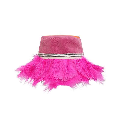PINK BUCKET HAT
