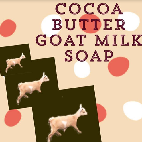 Cocoa Butter Goat Milk Soap