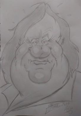Caricature depardieu