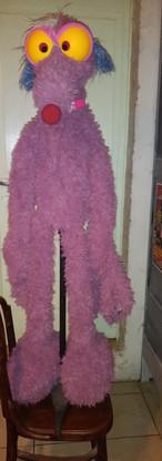 Exemple de marionnette à taille humaine