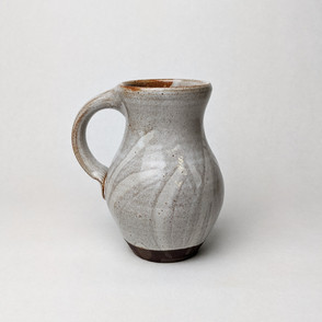 white slipware mug Alan Perillo Pottery