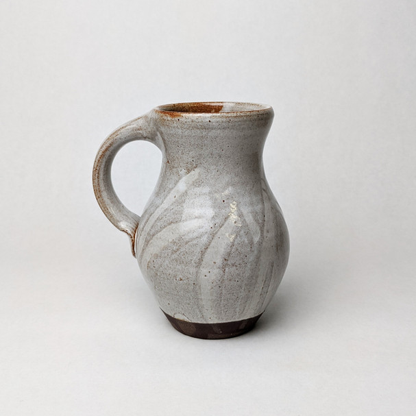white slipware mug Alan Perillo Pottery