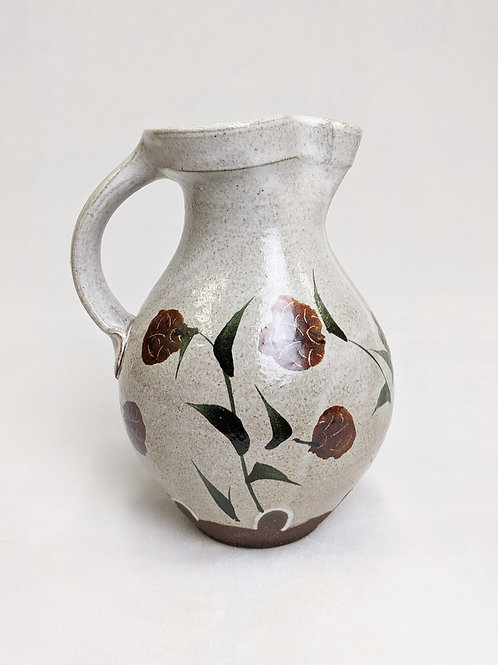 Painted Half Gallon Pitcher