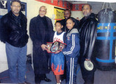 Detroit Boxing Team City/State/3xNational Champion