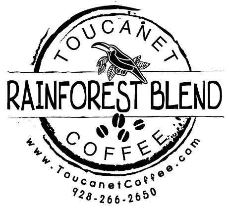 Organic Rainforest Blend - 8/12/16oz.