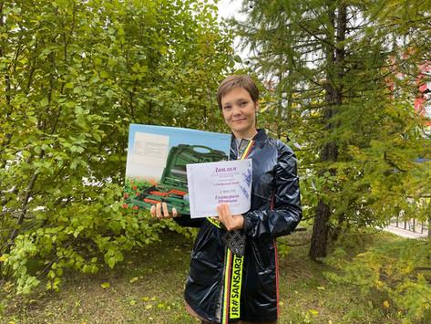 Чудо - огород сотрудницы АО «Ямалгосснаб» занял второе место.