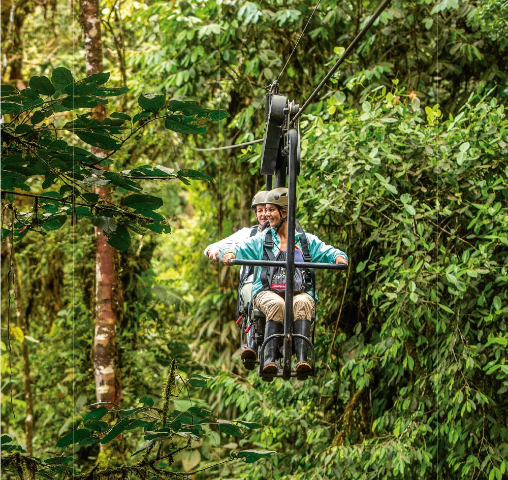 Skybike | Mashpi Lodge