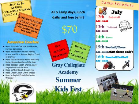 GCA All Sports Camp