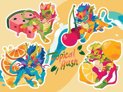 Tropical Sticker Sheet