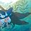 Thumbnail: Kaia and the Sea (digital artbook)