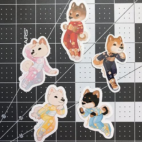 Shiba Sentai Stickers