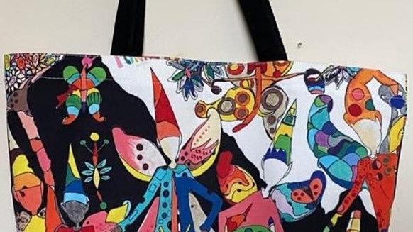 Canvas tote bag #5