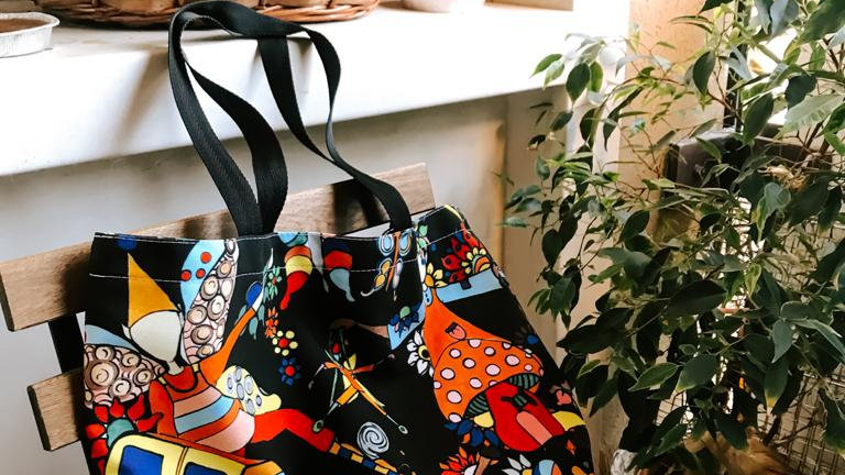 Canvas tote bag #1