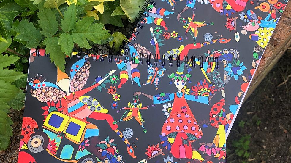 A5 Spiral notebook #1