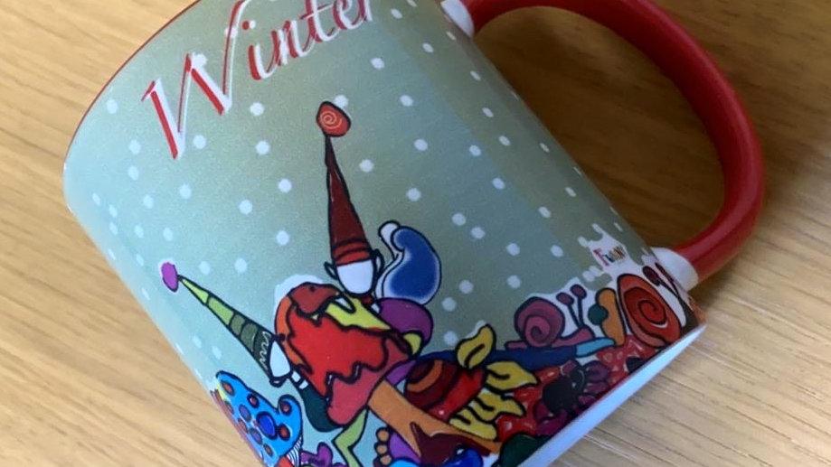 Funny Mug #winter