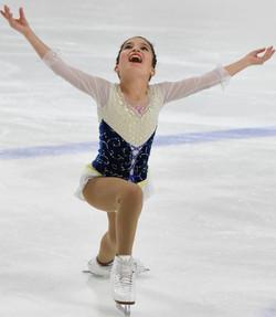 Eliana Peal Free Skate