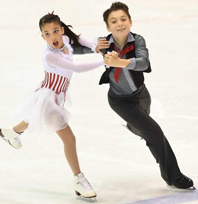 Eliana and Ethan Peal Free Dance