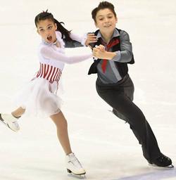 Eliana and Ethan Peal Free Dance