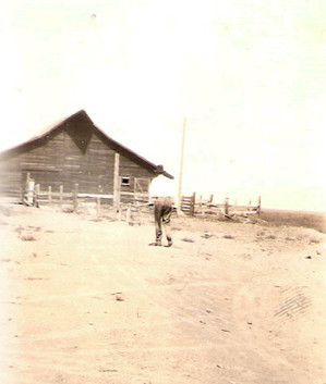 Grandpa & the barn