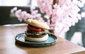 Mushroom Stack Burger