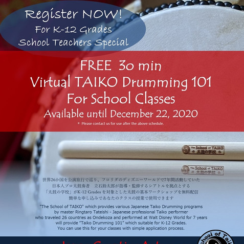 Virtual Taiko Drumming 101