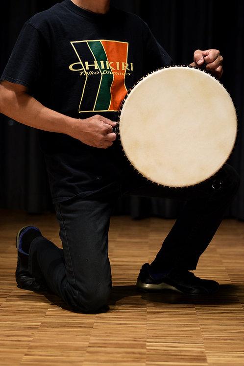 Taiko drum 1.2 shaku Hirado with Stand