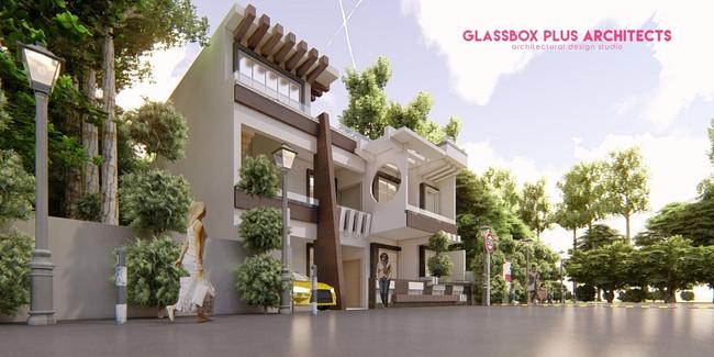 house design by an architect Ar.Prabhat kumar in PGI,Lucknow
