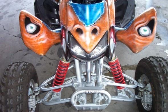 Custom Airbrush ATV