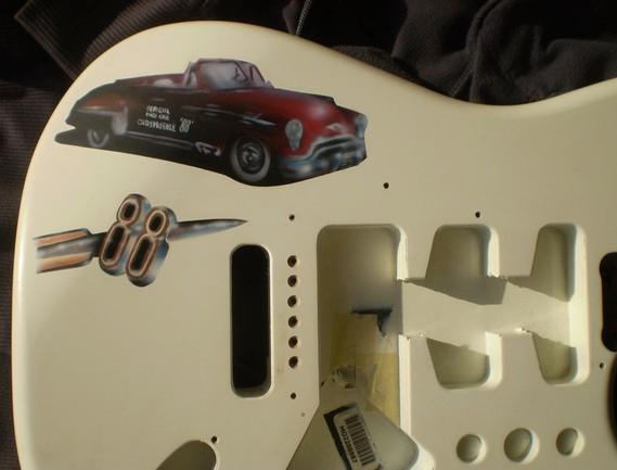Custom Guitar Art