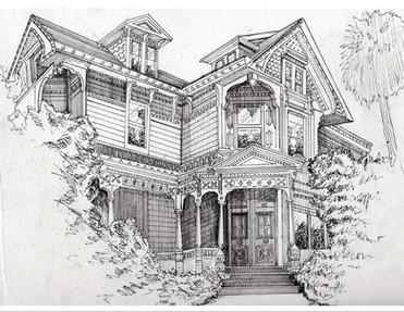 Real Estate Sketch 1: Client Work