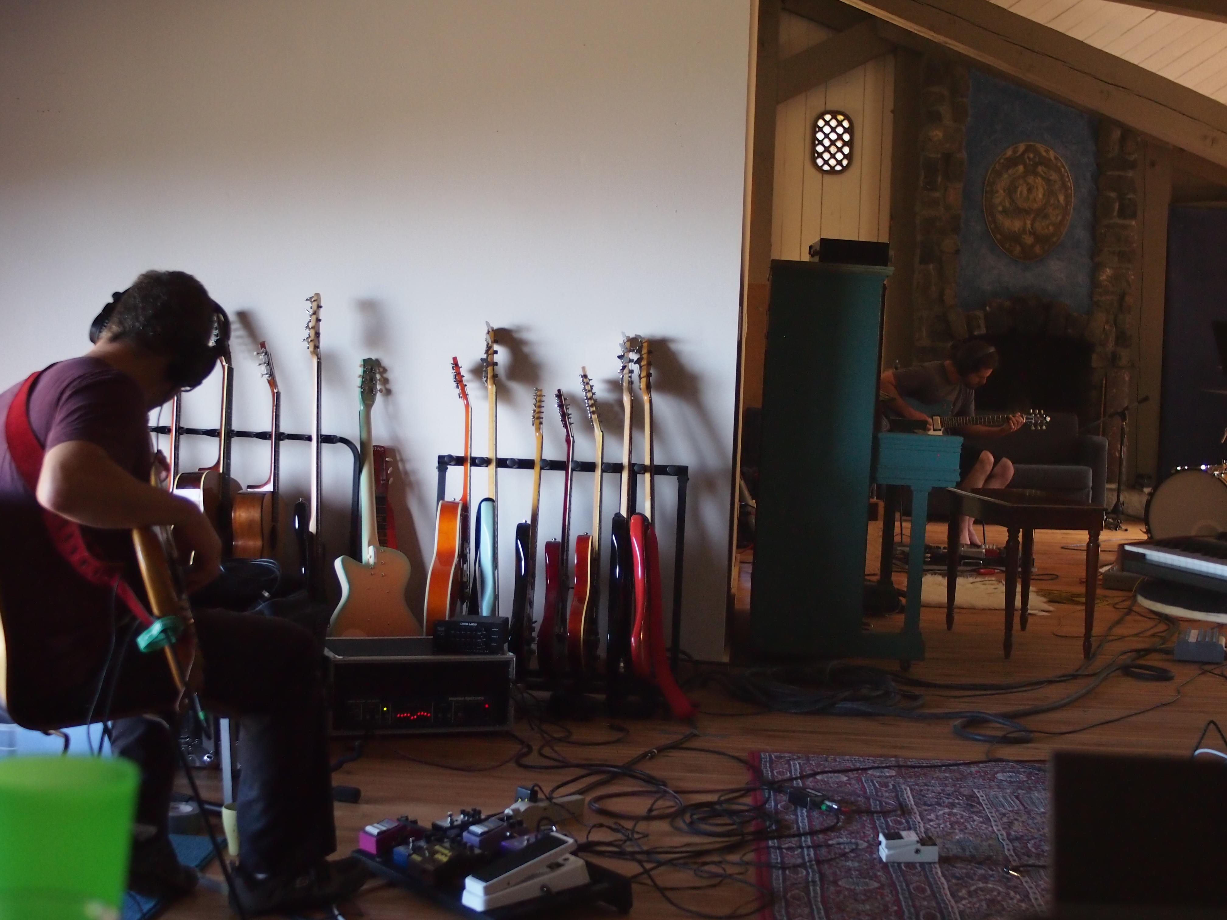 Tarik & Matt Heuiltt Recording 2013