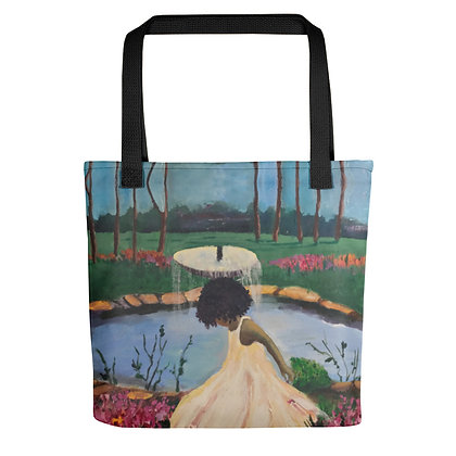 Girly All-Over Print Tote Bag