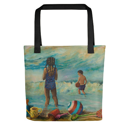 Beachtime All-Over Print Tote Bag