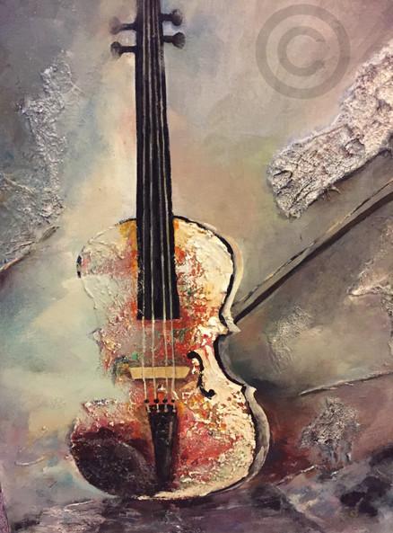 Textured Violin