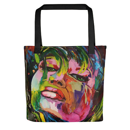 Sassy All-Over Print Tote Bag