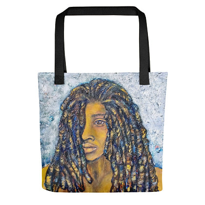 Lock'd In All-Over Print Tote Bag