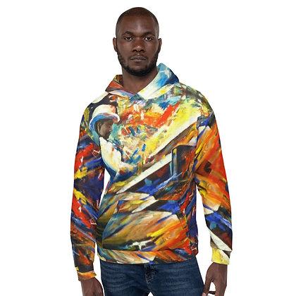 Jazz Man All-Over Print Unisex Hoodie