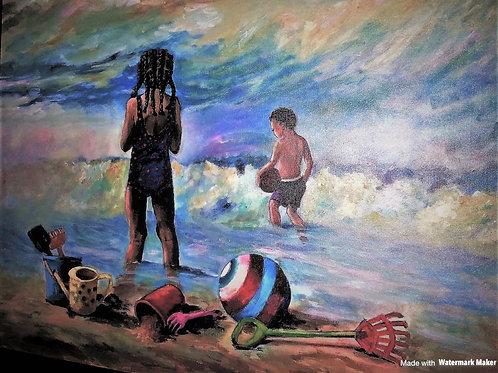 Beach Time - Original Painting