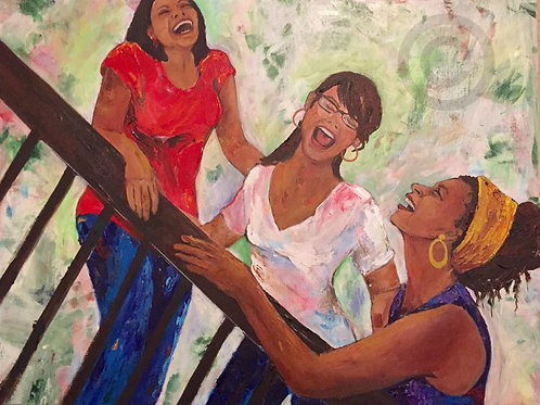 LOL Sisterhood - Original Painting